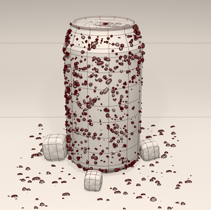 Coca-Cola 3D Wire Blender
