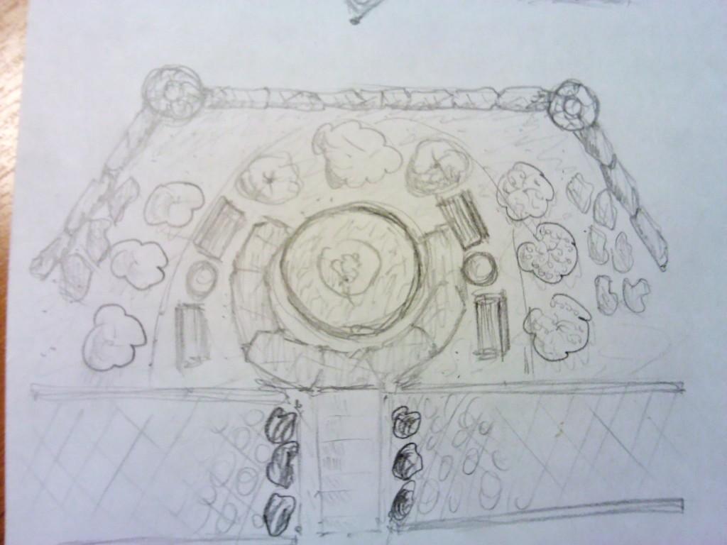 План сцены