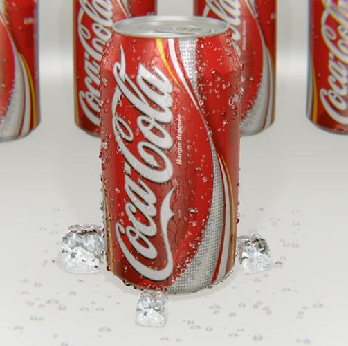 Coca-Cola Can 3D Blender