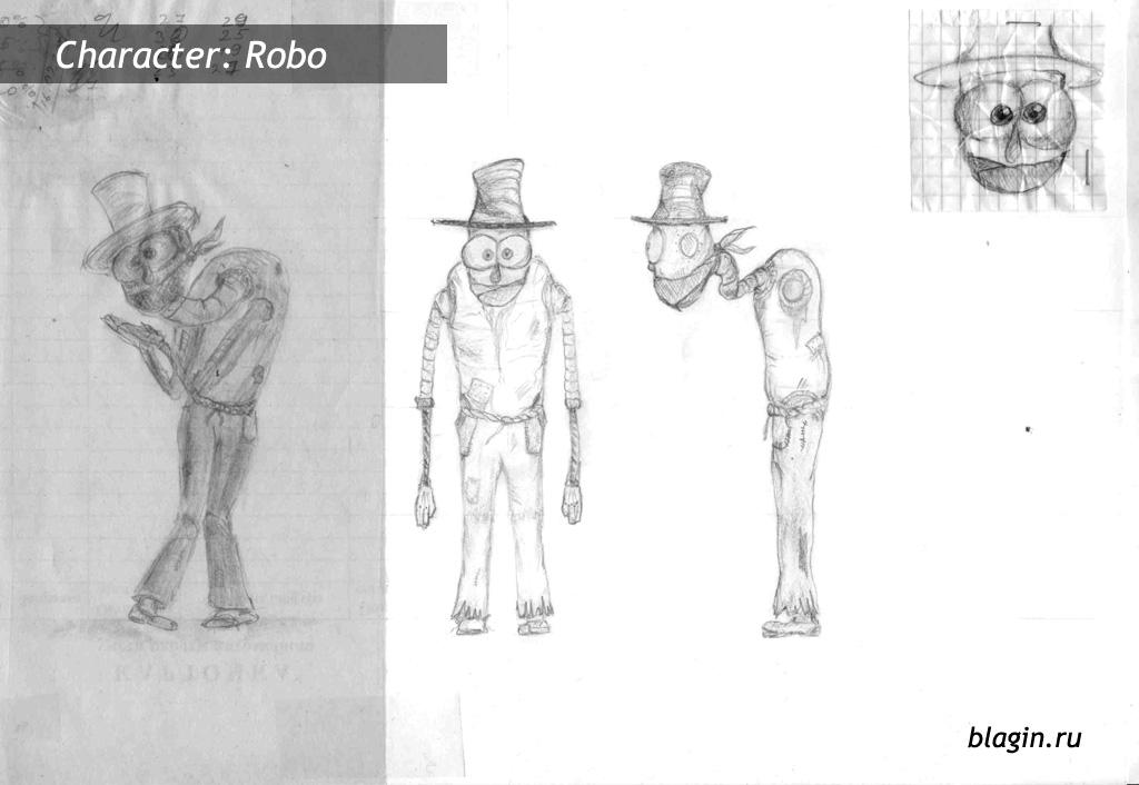 Character: Robo - sketch