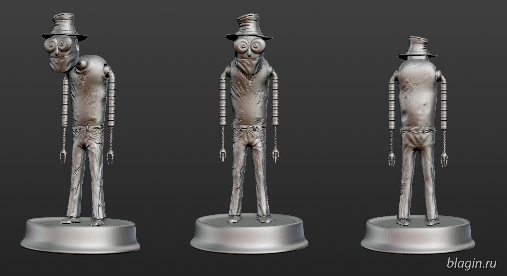Robo sculpt zbrush