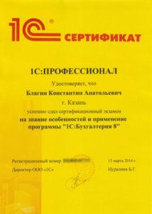 1С:Профессионал Бухгалтерия 8 (ред. 3.0)
